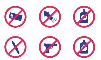 Verbotene Gegenstände Self Storage
