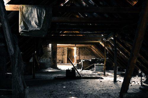 Dachböden Feuchtigkeit