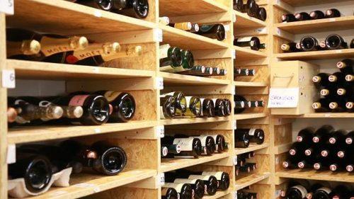 Wein Lagern - Wein Regal STORE ROOM Selfstorage