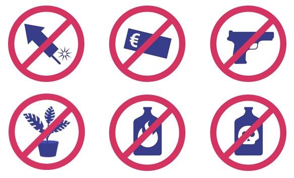 Verbotene Gegenstände STORE ROOM