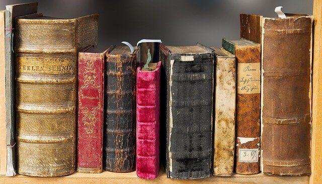 Lagerung von Büchern
