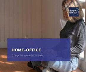 Home-Office: 7 Dinge die Sie wissen müssen